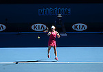 Sam Stosur (AUS) defeats Klara Zakopalova (CZE) 6-3, 6-4  at the Australian Open in Melbourne, Australia on January 13, 2014