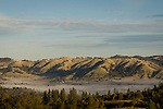 Rolling Hills in the Coloma Valley, California.