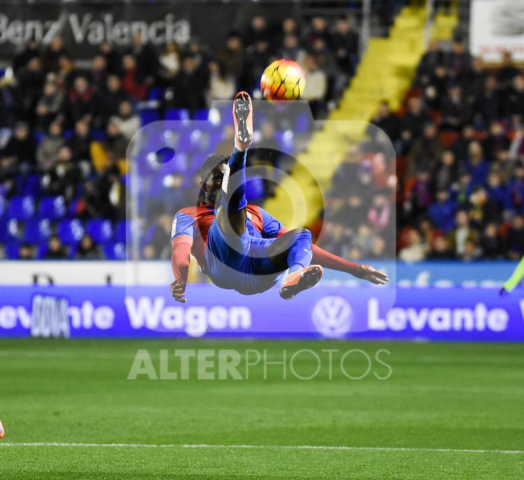 Levante's    Jefferson Lerma   during La Liga match. February 19, 2016. (ALTERPHOTOS/Javier Comos)
