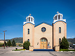 Exterior, Holy Trinity Serbian Orthodox Church, Butte, Montana