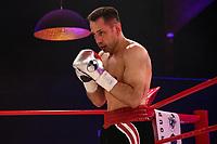19th December 2020, Hamburg, Germany; Universal Boxing Promotion fight, Felix Sturm versus Timo Rost;  Rost comes out of corner
