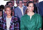 BIANCA E MAFALDA D'AOSTA<br /> CERIMONIA PER INAUGURAZIONE BUSTO UMBERTO I         BORRO 1987