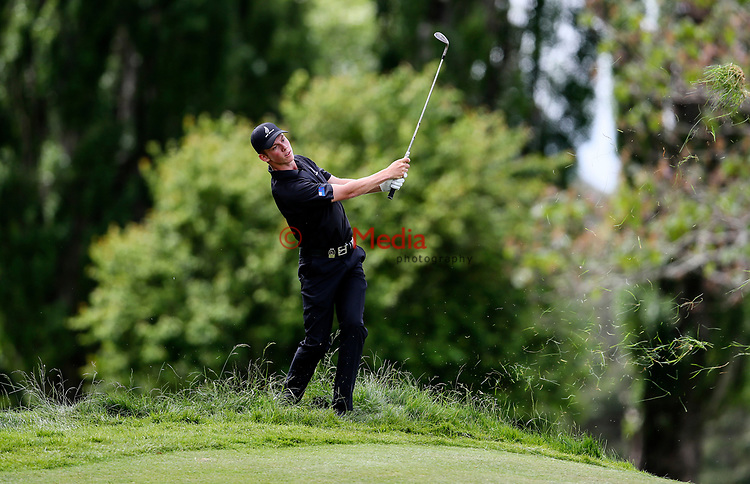 Daniel Hillier of New Zealand during the Asia Pacific Amateur Golf Championship Round Four, Royal Wellington Golf Course, Wellington, New Zealand, 29 October2017.  Photo: Simon Watts/www.bwmedia.co.nz