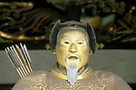 Statue of Tokugawa Shogun, Toshogu Shrine, Nikko, Tochigi, Japan