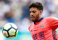 Real Sociedad's Carlos Vela during La Liga match. September 10,2017.  *** Local Caption *** © pixathlon<br /> Contact: +49-40-22 63 02 60 , info@pixathlon.de