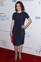 BEVERLY HILLS, CA, USA - APRIL 25: Alyson Hannigan at the Jonsson Cancer Center Foundation's 19th Annual 'Taste For A Cure' held at Regent Beverly Wilshire Hotel on April 25, 2014 in Beverly Hills, California, United States. (Photo by Xavier Collin/Celebrity Monitor)