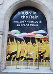 'Singing in the Rain' - Paris Billboards