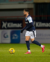 29th December 2020; Dens Park, Dundee, Scotland; Scottish Championship Football, Dundee FC versus Alloa Athletic; Declan McDaid of Dundee