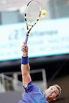 Jack Sock during Madrid Open Tennis 2015 match.May, 5, 2015.(ALTERPHOTOS/Acero)