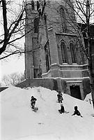 Loisirs d'Hiver,<br /> 15 fevrier 1973<br /> <br /> Photo : Agence Quebec Presse - Alain Renaud