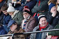 A Blackheath Rugby fan during the English National League match between Richmond and Blackheath  at Richmond Athletic Ground, Richmond, United Kingdom on 4 January 2020. Photo by Carlton Myrie.