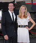 Jon Hamm & Jennifer Westfeldt  at the Twentieth Century Fox L.A. Premiere of The A-Team held at The Grauman's Chinese Theatre in Hollywood, California on June 03,2010                                                                               © 2010 Debbie VanStory / Hollywood Press Agency
