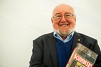 Tuesday 31 May 2016. Hay on Wye, UK<br /> Pictured:  Thomas Keneally<br /> Re: The 2016 Hay festival take place at Hay on Wye, Powys, Wales