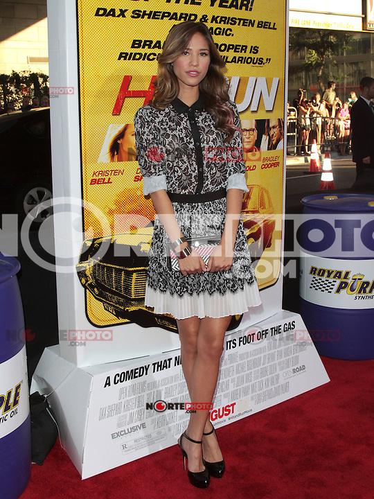 LOS ANGELES, CA - AUGUST 14: Kelsey Chow arrives at the 'Hit & Run' Los Angeles Premiere on August 14, 2012 in Los Angeles, California MPI21 / Mediapunchinc /NortePhoto.com<br /> <br /> **CREDITO*OBLIGATORIO** *No*Venta*A*Terceros*<br /> *No*Sale*So*third* ***No*Se*Permite*Hacer Archivo***No*Sale*So*third*