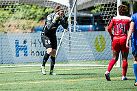 Seattle, WA - Saturday May 13, 2017: Haley Kopmeyer during a regular season National Women's Soccer League (NWSL) match between the Seattle Reign FC and the Washington Spirit at Memorial Stadium.