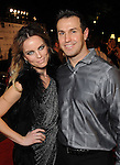 Sarah and Eric Prudhomme on the red carpet at Fashion Houston 5 at the Wortham Theater Friday Nov. 21, 2014.(Dave Rossman photo)