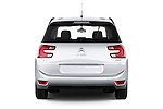 Straight rear view of a 2013 Citroen GRAND C4 PICASSO Intensive 5 Door Minivan 2WD