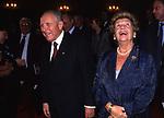 CARLO AZEGLIO E FRANCA CIAMPI  TEATRO ARGENTINA ROMA 2000