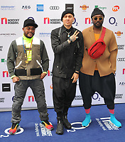 The Black Eyed Peas (apl.de.ap, Taboo and Will.i.am) at the Nordoff Robbins O2 Silver Clef Awards 2019, JW Marriott Grosvenor House Hotel, Park Lane, London, England, UK, on Friday 05th July 2019.<br /> CAP/CAN<br /> ©CAN/Capital Pictures