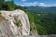 Echo Lake / Cathedral Ledge State Park - Scenic view from the summit of Cathedral Ledge in Bartlett, New Hampshire.