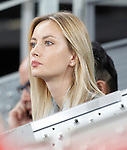 Tomas Berdych's girlfriend Ester Satorova during Madrid Open Tennis 2016 match.May, 6, 2016.(ALTERPHOTOS/Acero)