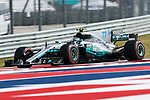 Valtteri Bottas (77) of Finland in action before the Formula 1 United States Grand Prix race at the Circuit of the Americas race track in Austin,Texas.