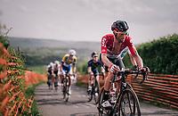 Tomasz Marczynski (POL/Lotto-Soudal) up La Redoute<br /> <br /> 104th Liège - Bastogne - Liège 2018 (1.UWT)<br /> 1 Day Race: Liège - Ans (258km)