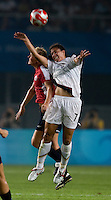 Shannon Boxx. The US lost to Norway, 2-0, during first round play at the 2008 Beijing Olympics in Qinhuangdao, China.