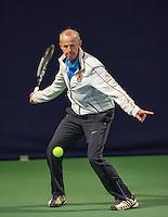 Hilversum, The Netherlands, March 10, 2016,  Tulip Tennis Center, NOVK, Martin Koek (NED)<br /> Photo: Tennisimages/Henk Koster