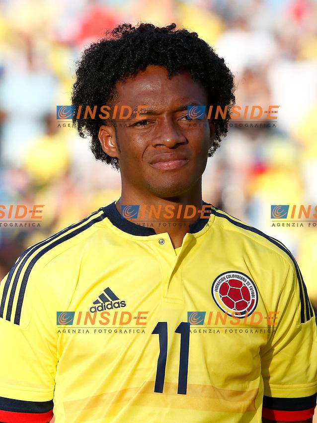 Colombia's Juan Guillermo Cuadrado during international friendly match. June 13,2017.(ALTERPHOTOS/Acero/Insidefoto)<br /> Camerun - Colombia <br /> Foto Acero/Alterphotos/Insidefoto <br /> ITALY ONLY