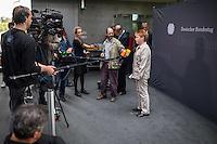 33. Sitzung des 2. NSU-Untersuchungsausschuss des Deutschen Bundestag am Donnerstag den 29. September 2016.<br /> Im Bild: Petra Pau, Obfrau der Linkspartei im Ausschuss, beim Pressestatement.<br /> 29.9.2016, Berlin<br /> Copyright: Christian-Ditsch.de<br /> [Inhaltsveraendernde Manipulation des Fotos nur nach ausdruecklicher Genehmigung des Fotografen. Vereinbarungen ueber Abtretung von Persoenlichkeitsrechten/Model Release der abgebildeten Person/Personen liegen nicht vor. NO MODEL RELEASE! Nur fuer Redaktionelle Zwecke. Don't publish without copyright Christian-Ditsch.de, Veroeffentlichung nur mit Fotografennennung, sowie gegen Honorar, MwSt. und Beleg. Konto: I N G - D i B a, IBAN DE58500105175400192269, BIC INGDDEFFXXX, Kontakt: post@christian-ditsch.de<br /> Bei der Bearbeitung der Dateiinformationen darf die Urheberkennzeichnung in den EXIF- und  IPTC-Daten nicht entfernt werden, diese sind in digitalen Medien nach §95c UrhG rechtlich geschuetzt. Der Urhebervermerk wird gemaess §13 UrhG verlangt.]