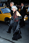 Carol Channing attends the Wedding of Liza Minnelli and David Gest<br /> on March 16, 2002 at the Marble Collegiate Church in New York City.