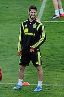 Spanish National Team's  training at Ciudad del Futbol stadium in Las Rozas, Madrid, Spain. In the pic: Isco. March 25, 2015. (ALTERPHOTOS/Luis Fernandez) /NORTEphoto.com