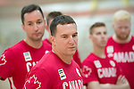 Rio 2016 - Goalball.<br /> The Canadian Paralympic Goalball Team for Rio 2016 was announced to the media at Variety Village in Toronto // L'équipe canadienne de goalball paralympique pour Rio 2016 a été annoncée aux médias au Variety Village de Toronto. 26/08/2016.