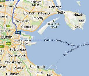 """In the days before the Bull Island was connected to land with a fixed causeway with no tidal through-flow, for four to five hours around high water Kilbarrack Sailing Club had sheltered sailing water the entire length of """"The Blue Lagoon"""" all the way along to the Wooden Bridge at Clontarf"""