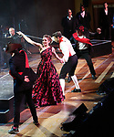 """Tony Yazbeck and Laura Osnes with cast performing during the MCP Production of """"The Scarlet Pimpernel"""" Concert at the David Geffen Hall on February 18, 2019 in New York City."""