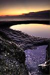 Folly Beach South Carolina Sunrise Beach Scene