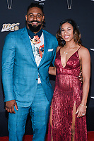 MIAMI, FL - FEBRUARY 1: Cam Jordan and Nikki Jordan attend the 2020 NFL Honors at the Ziff Ballet Opera House during Super Bowl LIV week on February 1, 2020 in Miami, Florida. (Photo by Anthony Behar/Fox Sports/PictureGroup)