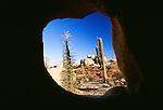 Rock formations, Catavina Desert, Baja del Norte, Mexico
