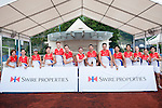 Swire Properties team during Swire Touch Tournament on 03 September 2016 in King's Park Sports Ground, Hong Kong, China. Photo by Marcio Machado / Power Sport Images