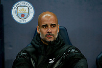 Manchester City Manager Pep Guardiola during the UEFA Champions League Group C match between Manchester City and Dinamo Zagreb at the Etihad Stadium on October 1st 2019 in Manchester, England. (Photo by Daniel Chesterton/phcimages.com)<br /> Foto PHC/Insidefoto <br /> ITALY ONLY