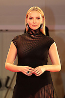 """Venice, Italy - September 10: Jodie Comer attends the Red Carpet of 20th Century Studios' movie """"The Last Duel"""" during the 78th Venice International Film Festival on September 10, 2021 in Venice, Italy. <br /> CAP/MPI/AF<br /> ©AF/MPI/Capital Pictures"""