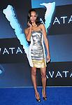 Zoe Saldana at The Twentieth Century Fox World Premiere of Avatar held at The Grauman's Chinese Theatre in Hollywood, California on December 16,2009                                                                   Copyright 2009 DVS / RockinExposures