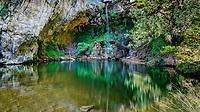 Drimona Waterfalls in Evia island, Greece