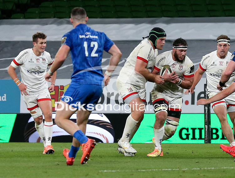 Saturday 12th September 2020 | PRO14 Final - Leinster vs Ulster<br /> <br /> Marcell Coetzee during the Guinness PRO14 Final between Leinster ands Ulster at the Aviva Stadium, Lansdowne Road, Dublin, Ireland. Photo by John Dickson / Dicksondigital