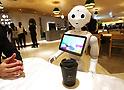 Pepper PARLOR robot cafe in Tokyo