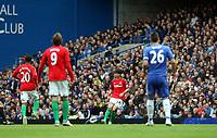 Pictured: Ki Sung-Yeung<br /> Barclays Premier League, Chelsea FC (blue) V Swansea City,<br /> 28/04/13