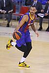 League ACB-ENDESA 2020/2021.Game 15.<br /> FC Barcelona vs Club Joventut Badalona: 88-74.<br /> Adam Hanga.