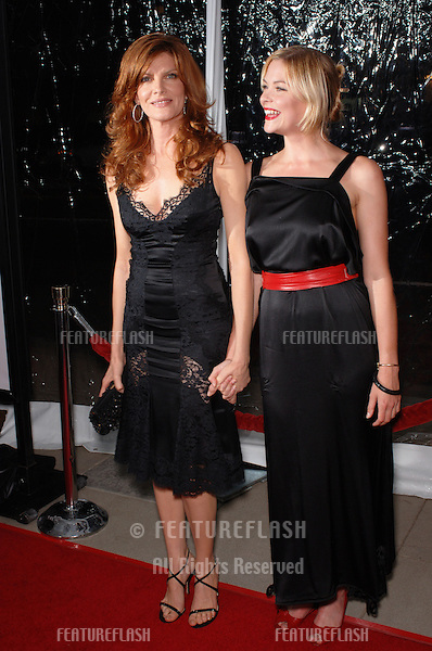 Actresses RENE RUSSO (left) & JAIME KING at the world premiere, in Beverly Hills, of their new movie Two For The Money..September 26, 2005  Beverly Hills, CA..© 2005 Paul Smith / Featureflash
