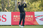 Shiv Kapur of India tees off during the 58th UBS Hong Kong Open as part of the European Tour on 08 December 2016, at the Hong Kong Golf Club, Fanling, Hong Kong, China. Photo by Vivek Prakash / Power Sport Images